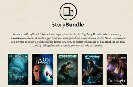 Customer-Determined Pricing - StoryBundle Allows Readers to Choose What They Pay for Books