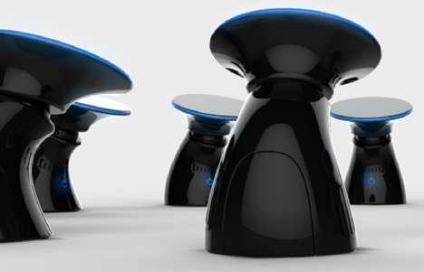 Futuristic Fungi Espresso Machines