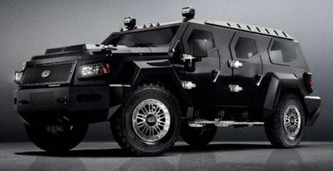 Beastly Geometric Vehicles
