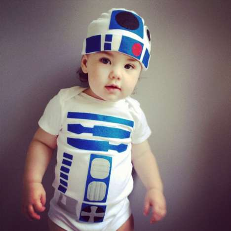 Nerdy Newborn Ensembles - Give Your Kid a Geeky Look with This R2d2 Toddler Costume