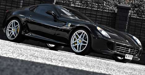 The Ferrari 599 GTB Fiorano is the Ultimate in Luxury Wheels