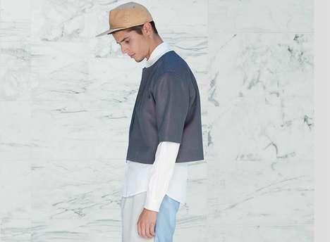 Minimalist Color-Blocked Fashion
