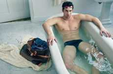 Olympic Athlete Couture Campaigns