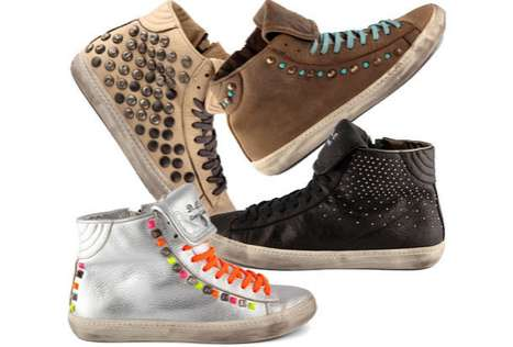 Subtly Studded Sneakers