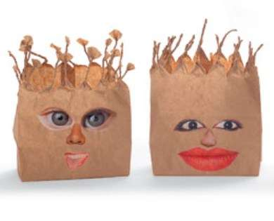 Quirky Personified Lunch Bags