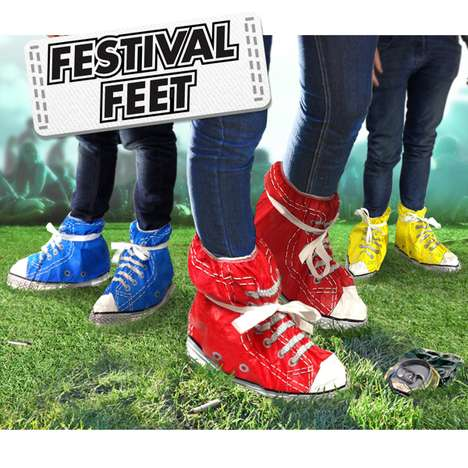 The Festival Feet Sneakers are Perfect for Rained-Out Events
