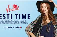 On-Demand Concert Attire - Fashion Brand Very Launches V Festival Clothing Delivery Service