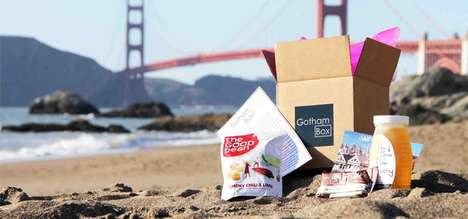 Location-Inspired Food Subscriptions