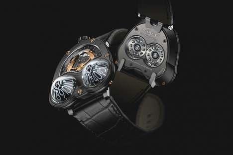 Bulging Eye-Like Timepieces