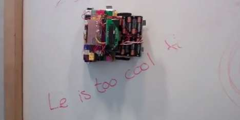 Ink-Removing Robots