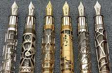 Steampunk Writing Utensils