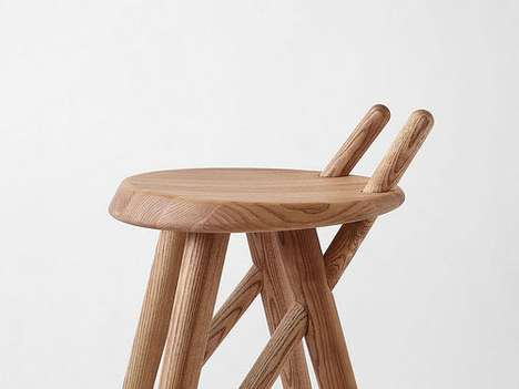 Impaled Wooden Seating