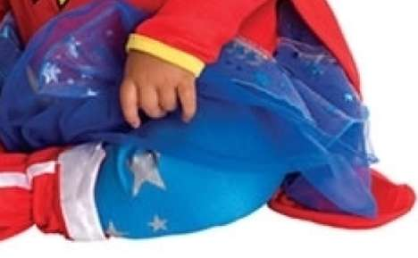 Girly Superhero Baby Garments