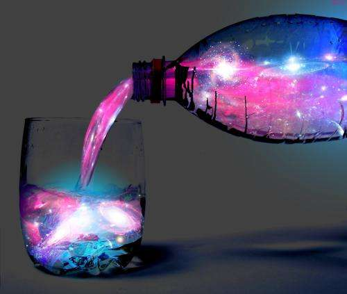 Glowing Galaxy Cocktails