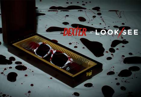 The Dexter Sunglasses by Look/See are Stylishly Creepy