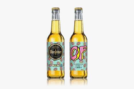 Exclusive Donut-Printed Beers