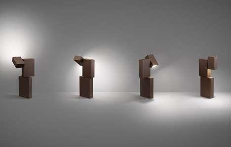Minimalist Block Lighting