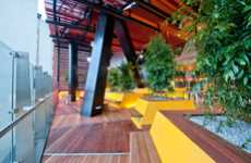 Patio-Like Workspaces - The Rmit University Student Portal Space is Stylish and Studious
