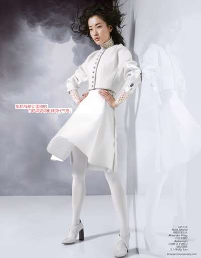Immaculate Ivory Editorials