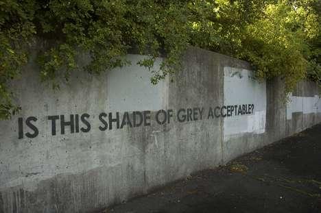 Cheeky Commentary Graffiti