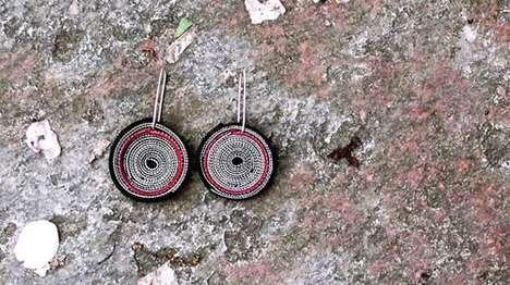 Spiraling Velcro Jewelry
