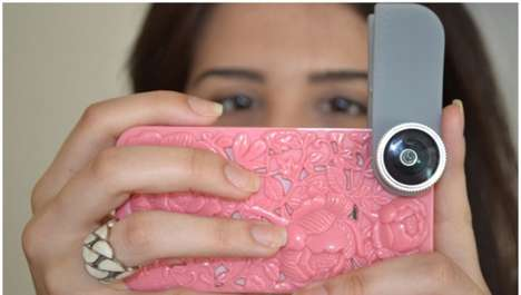 Clothespin Camera Lenses