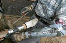 Scrap Metal Prosthetic Limbs