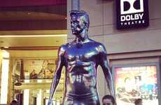 Silver Celebrity Statues