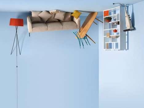 Aerial Floating Furniture