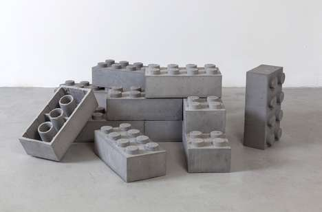 Cement Building Block Toys