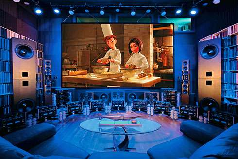 16 Incredible Home Theater Displays