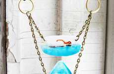 Aquatic Predator Adornments - This Shark Necklace by Chantelle Williams is Perfect for Shark Week