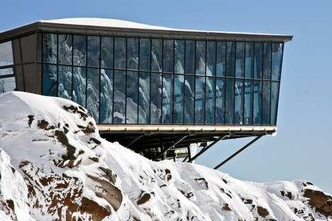 Mirrored Alpine Dining