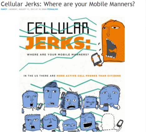 Mobile Manners Charts