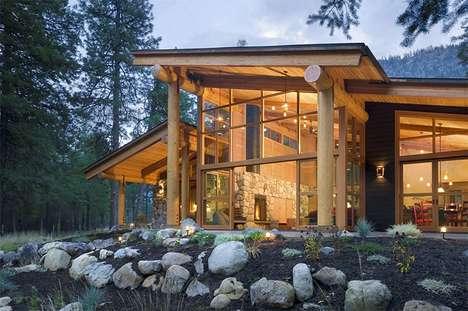 Spectacular Slanted Mountain Retreats