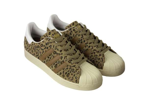 Animal Print Sneakers : Adidas Superstar 'Animal Patterns'