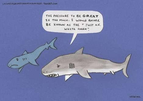 Hilarious Shark Comics