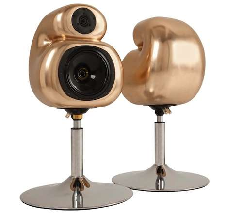 $3 Million Speakers - The Hart Audio D&W Aural Pleasure Loudspeaker is Extravagant