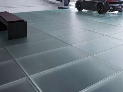 Frosted Glass Tiles