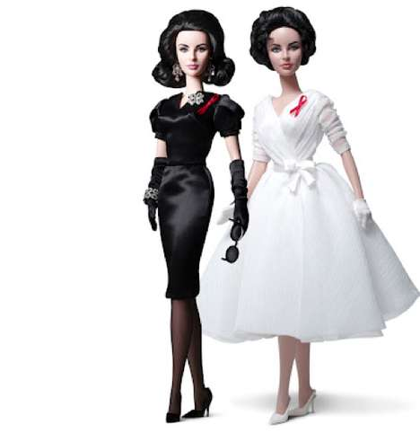 The 'Elizabeth Taylor Barbie Doll' Captures What Charmed Richard Burton