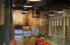 Shipping Container Eateries - Los Sopranos by Pedro Scattarella Redefines Reclaimed Design