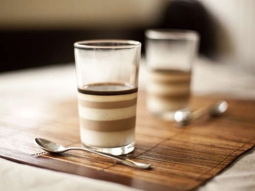East Asian Latte Desserts