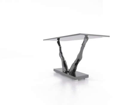Delicate Dancer Furniture - The Ballerina Table is Elegant