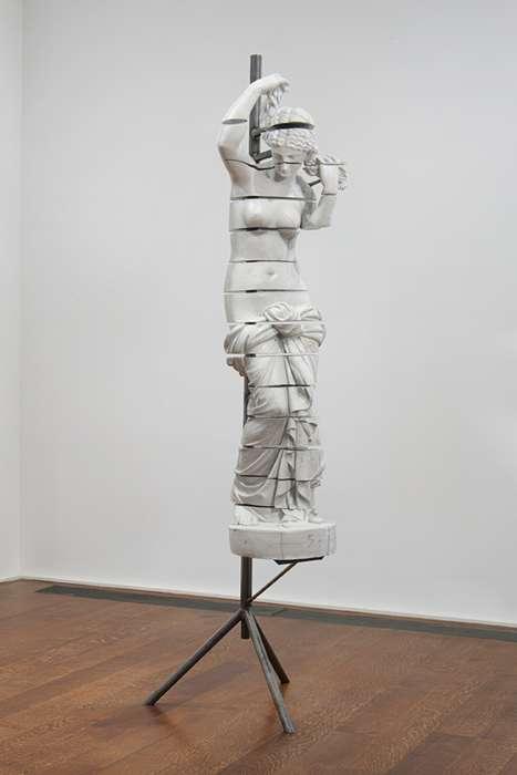 Swiveling Classic Sculptures