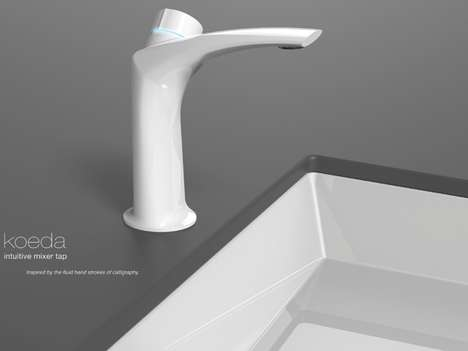 Sleek Thermochromatic Taps