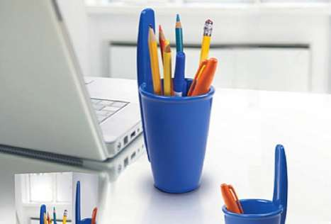 Scaled-Up Stationery Organizers