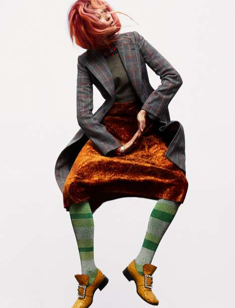 Eccentrically Patterned Editorials