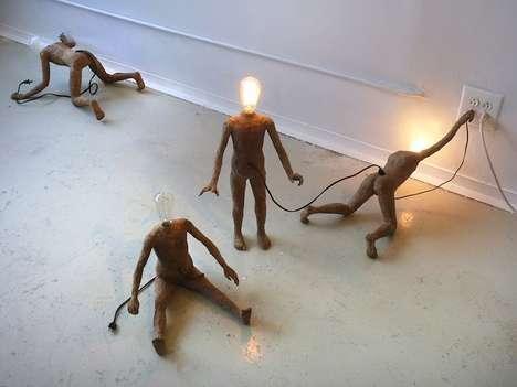 Light Bulb People Artworks