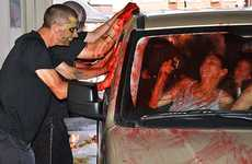 Goolish Fundraising Events - The Zombie Car Wash in Toronto is a Spooky Experience