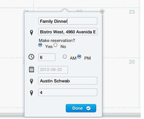 Capable Restaurant-Booking Calendars - The Reserverr Application Lets You Plan and Make Appointments
